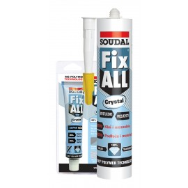Fix All Crystal Sodual klej-uszczelniacz bezbarwny 290 ml.