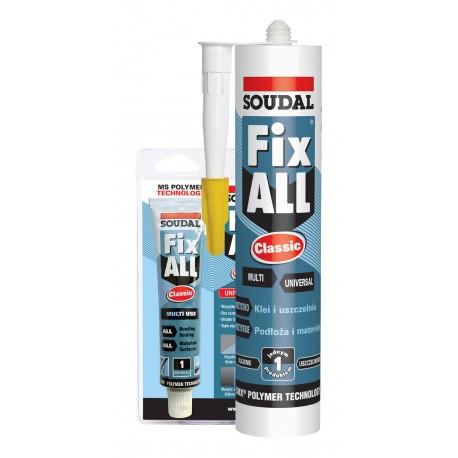 Klej-uszczelniacz Fix All Soudal Classic 290 ml.