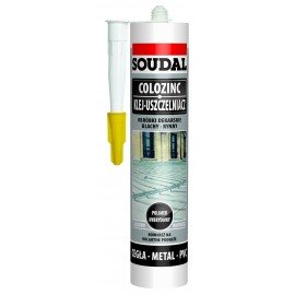 Colozinc-Soudal do blach i obróbek dekarskich 300 ml.