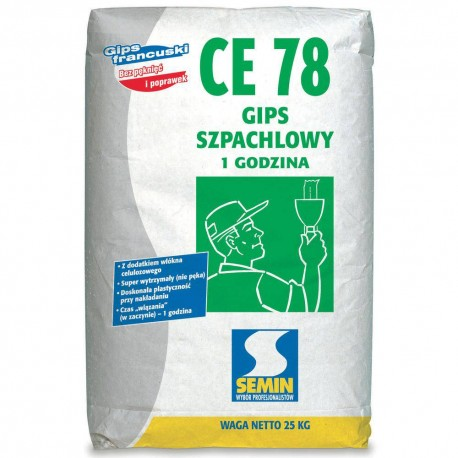 Gips szpachlowy Semin CE 78 25 kg