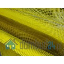 Narożnik PCV z siatką-żółty