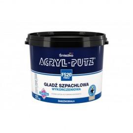 Masa szpachlowa Acryl-Putz Finisz FS-20 27 kg / 8 kg.